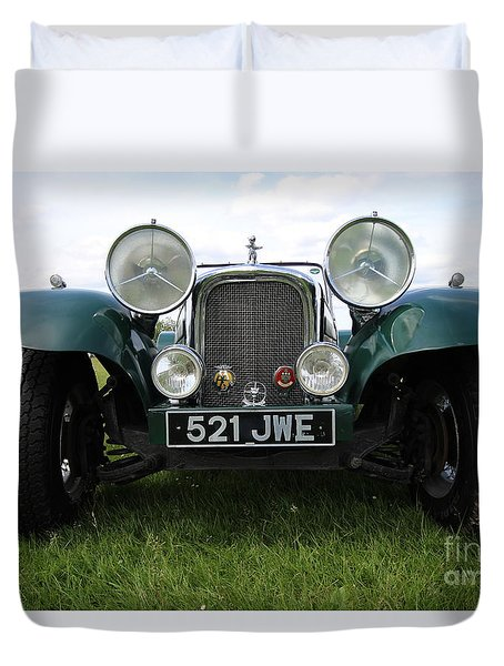 Bug Eye Jaguar Duvet Cover