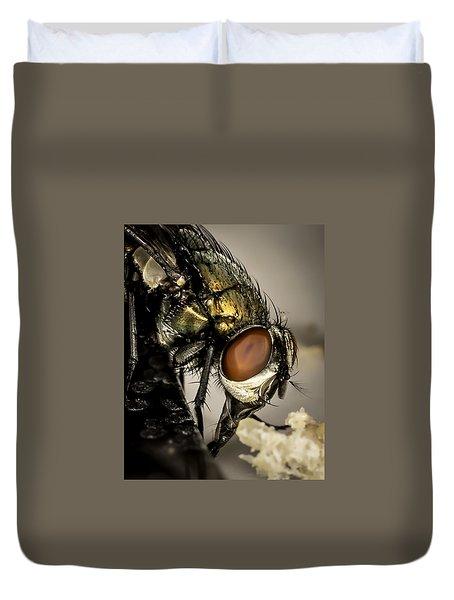 Bug On A Bug Duvet Cover