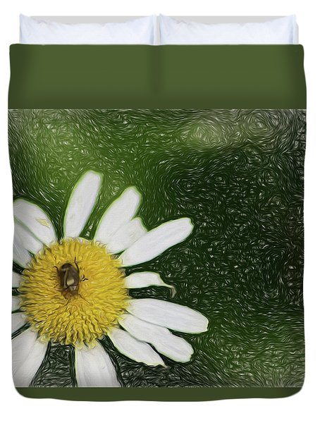 Bug Out Duvet Cover by Terry Cork