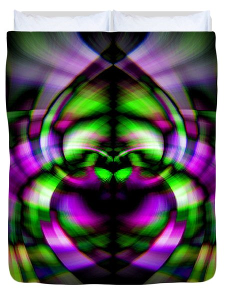 Bug With Wings Duvet Cover by Cherie Duran