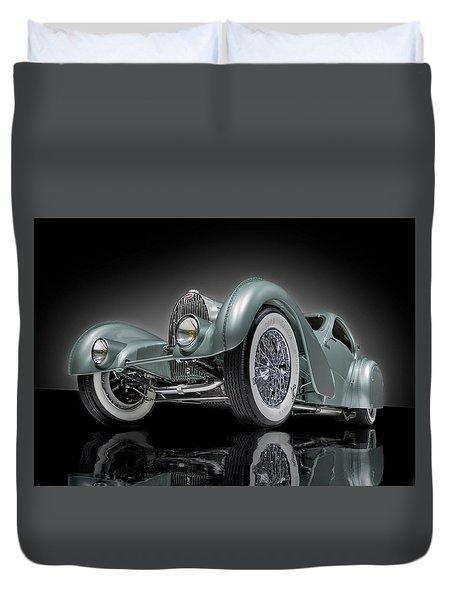 Bugatti Aerolithe Recreation Duvet Cover