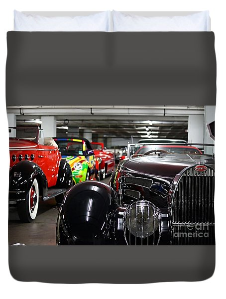 Bugatti Collection Duvet Cover by Marvin Blaine