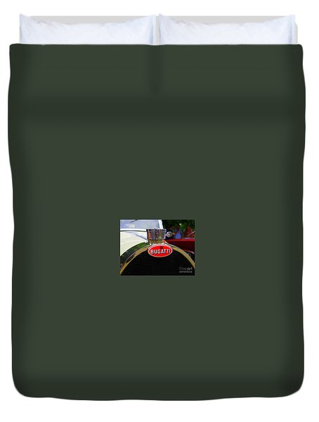 Bugatti Red Duvet Cover