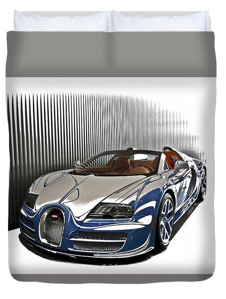 Bugatti V Duvet Cover