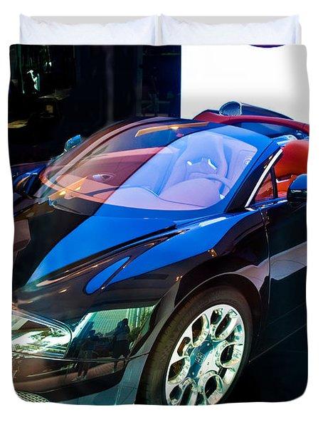 Bugatti Veyron Targa Duvet Cover