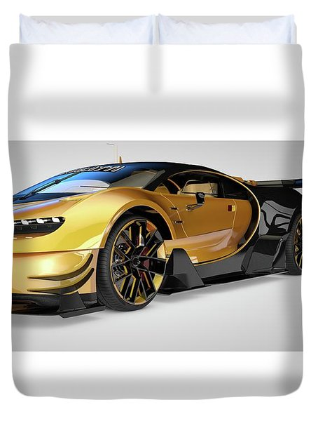 Bugatti Vision Gran Turismo Duvet Cover