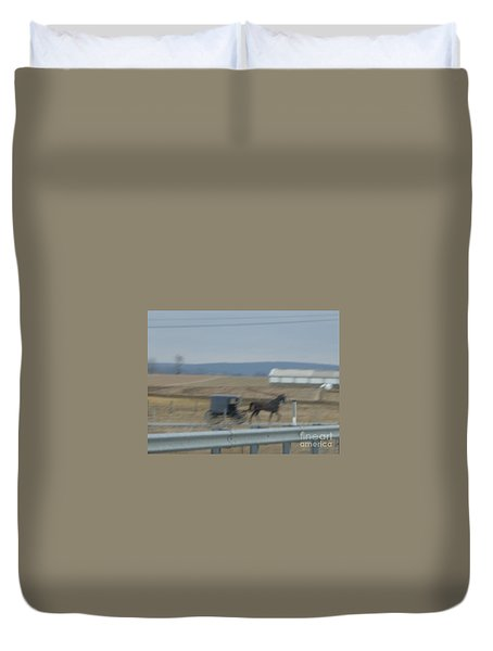 Buggy Ride Three Duvet Cover