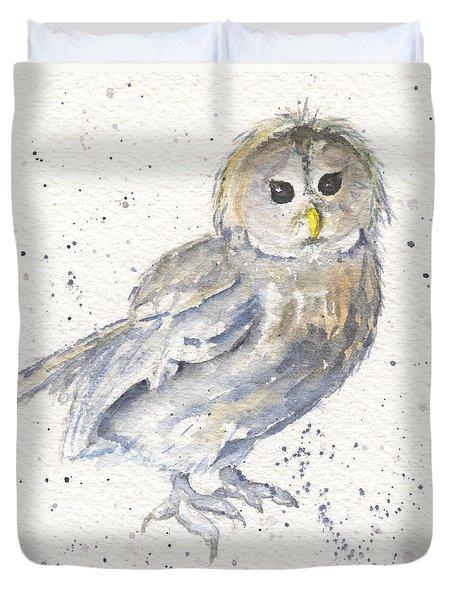 Buhma - Tawny Owl Duvet Cover