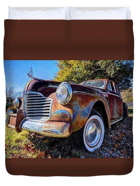 Buick Eight Duvet Cover