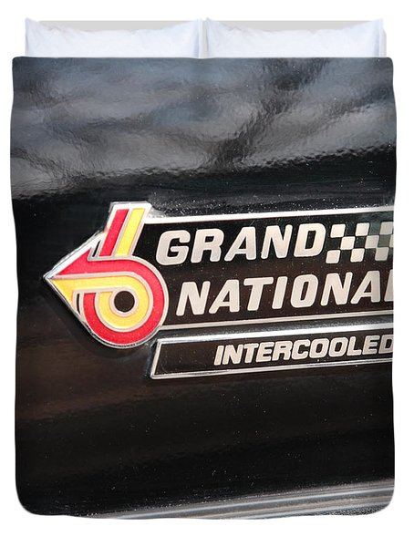 Buick Grand National Emblem Duvet Cover