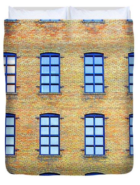 Building Windows Duvet Cover