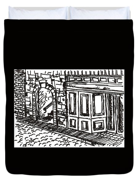 Buildings 2 2015 - Aceo Duvet Cover