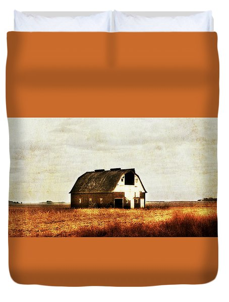 Duvet Cover featuring the photograph Built To Last by Julie Hamilton