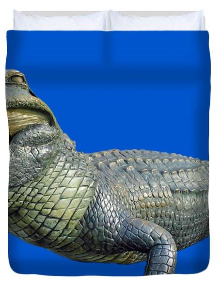 Bull Gator Transparent For T Shirts Duvet Cover