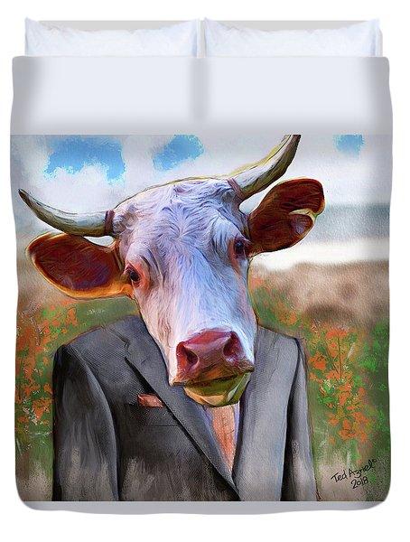 Bull Headed Duvet Cover