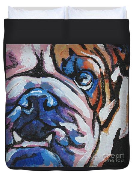 Bulldog Baby Duvet Cover