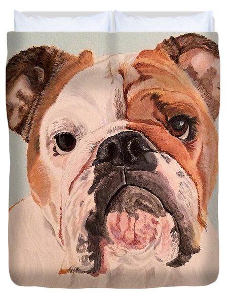 Bulldog Beauty Duvet Cover