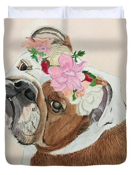 Bulldog Bridesmaid Duvet Cover