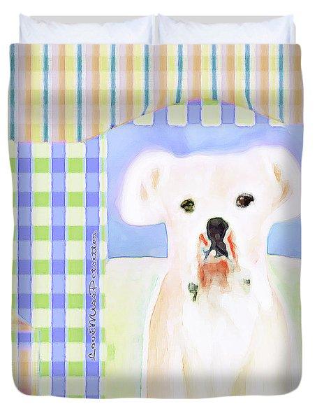 Bulldog Rana Art 39 Duvet Cover