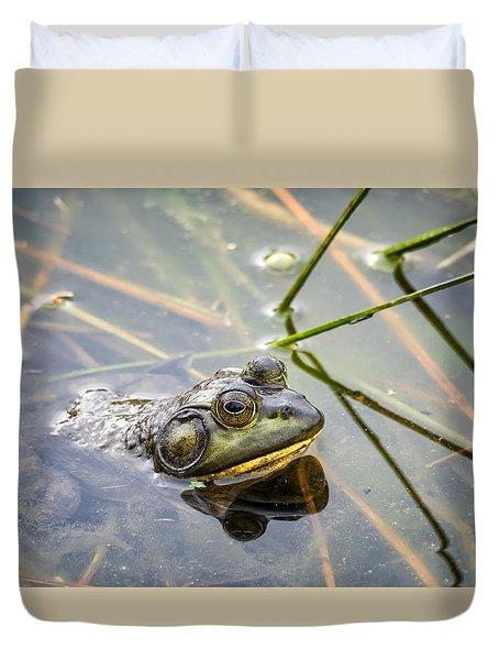 Bullfrog Duvet Cover