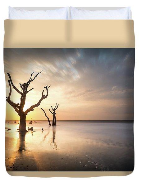 Bulls Island Sunrise Duvet Cover