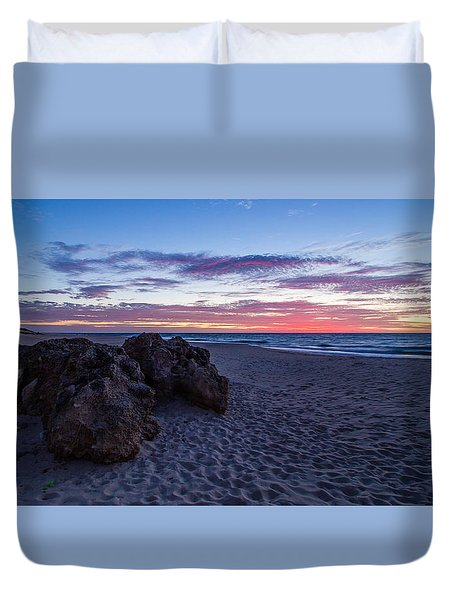 Bunbury Sunset Duvet Cover