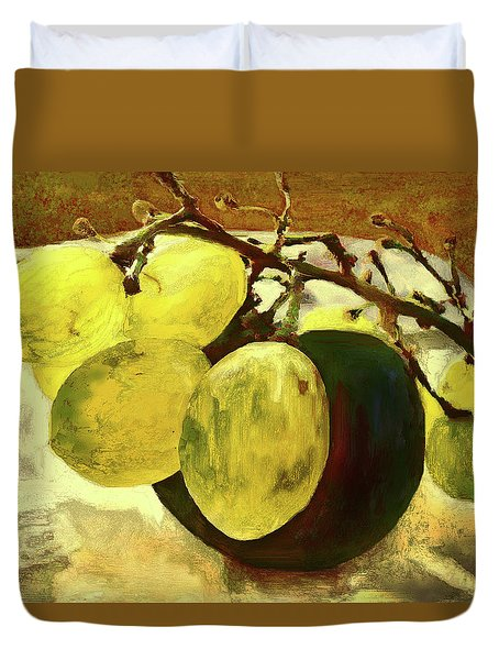 Bunch Of Grapes Duvet Cover