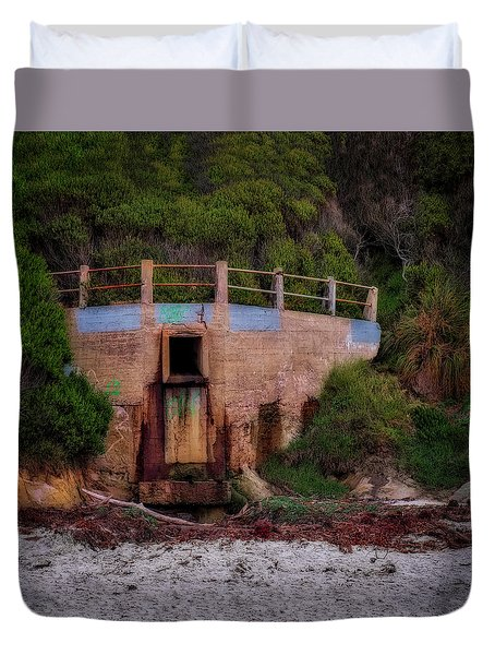 Bunker Duvet Cover by Jerry Golab