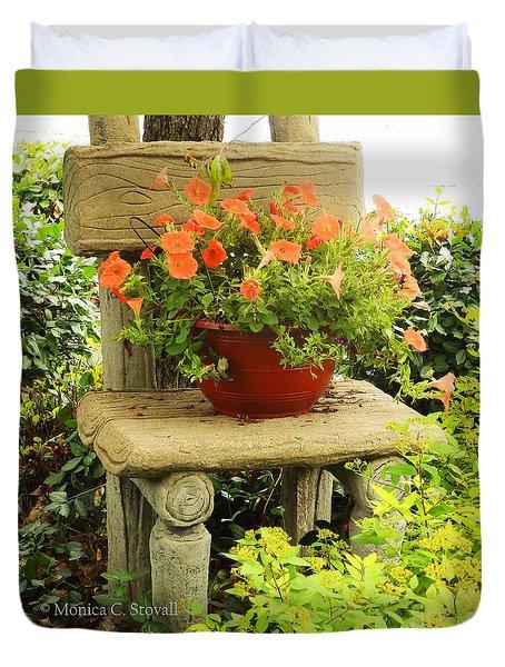 Garden Landscape No. B4 Duvet Cover