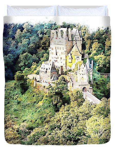 Burg Eltz - Moselle Duvet Cover