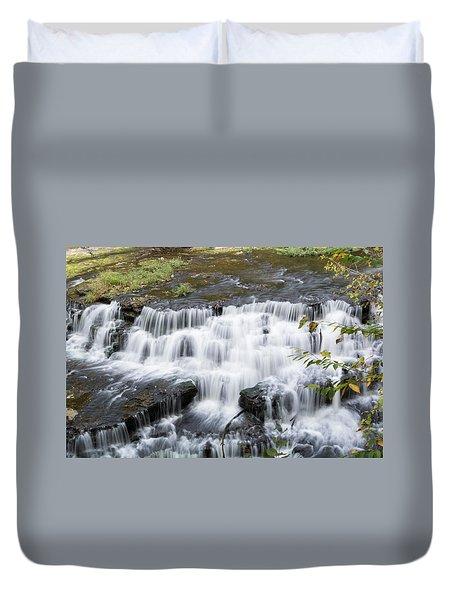 Burgess Falls Middle Duvet Cover