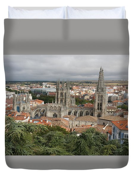 Duvet Cover featuring the photograph Burgos by Christian Zesewitz