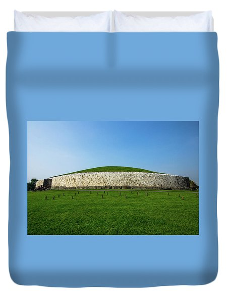 Burial Mound Duvet Cover