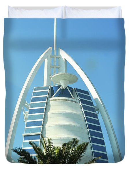 Burj Al Arab Duvet Cover by Hanza Turgul