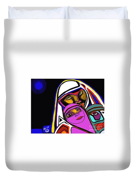 Burka Dome Duvet Cover