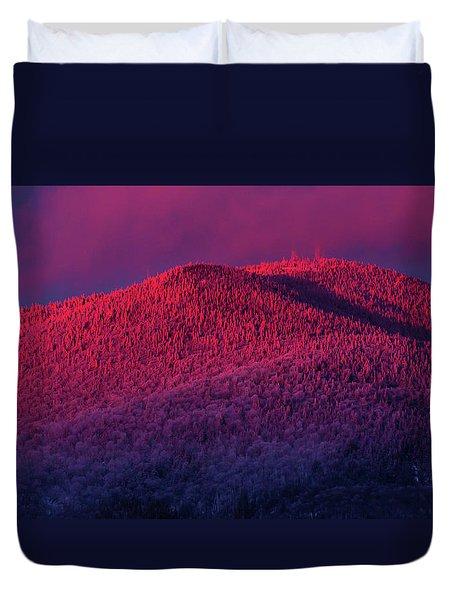 Burke Alpenglow Duvet Cover