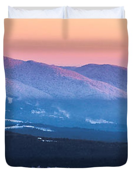 Burke To Moosilauke Duvet Cover by Tim Kirchoff