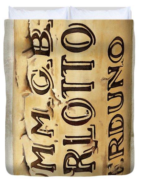 Burlotto Duvet Cover
