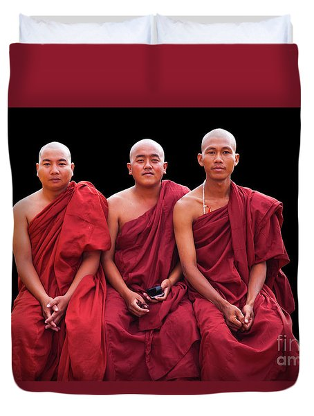 Burma_d1610 Duvet Cover by Craig Lovell