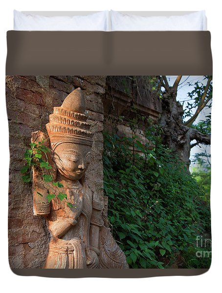 Burma_d195 Duvet Cover by Craig Lovell