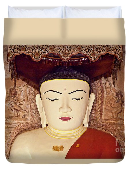 Burma_d2085 Duvet Cover by Craig Lovell
