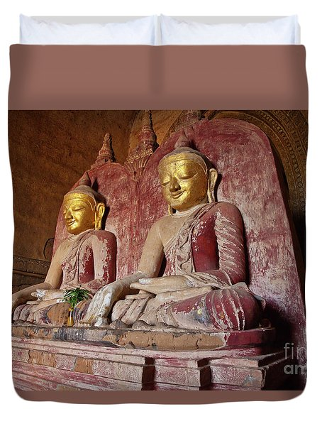 Burma_d2104 Duvet Cover by Craig Lovell