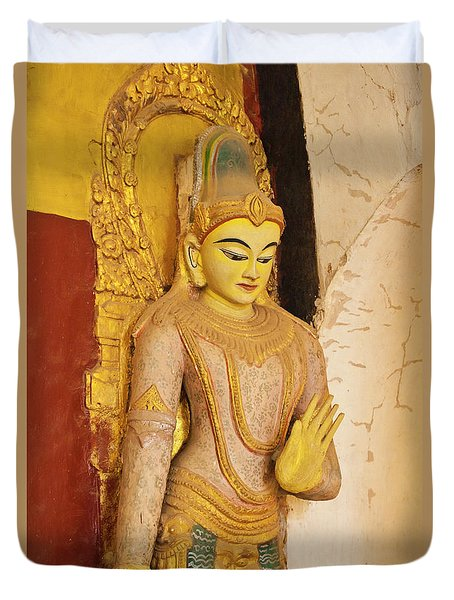Burma_d2257 Duvet Cover by Craig Lovell