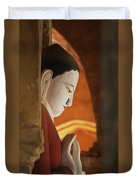 Burma_d2287 Duvet Cover by Craig Lovell