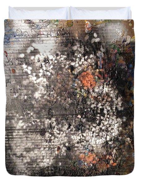 Burn Crackle Fizz Duvet Cover