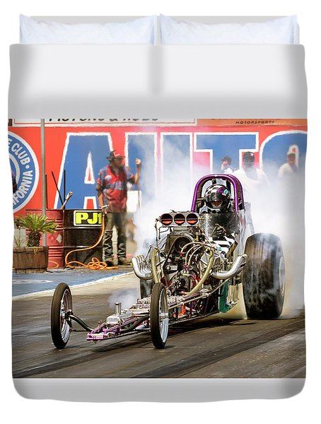 Burn Out  Duvet Cover