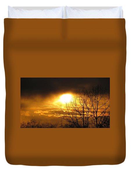Burnaby Mountain Duvet Cover