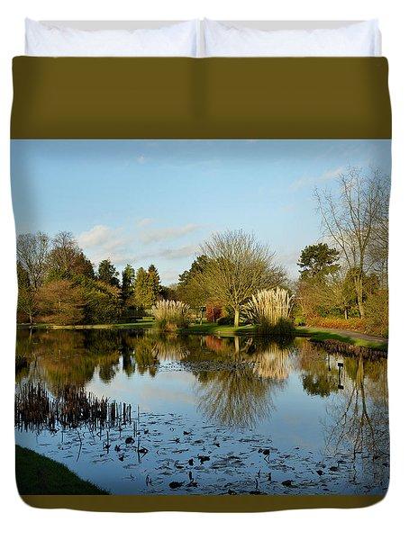 Burnby Hall Gardens Duvet Cover