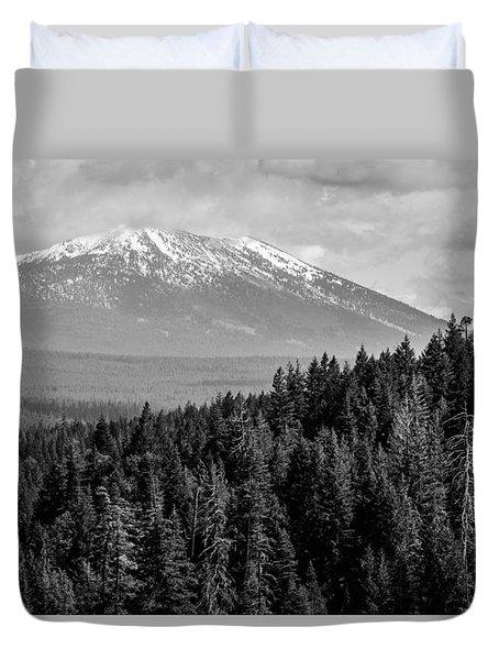 Burney Mountain Duvet Cover
