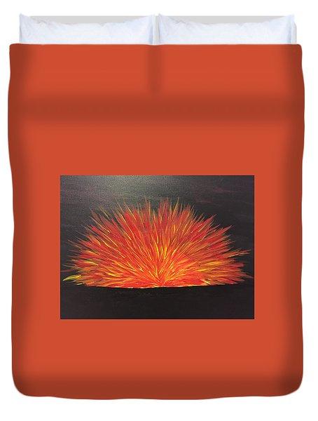 Burning Sun Duvet Cover